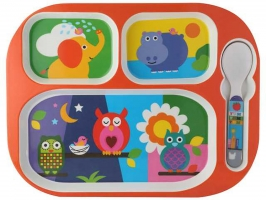 Animal Meal Set of 4