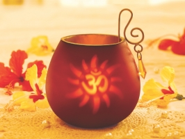 Red Decorative Tea Light