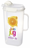 Juice Jug 2L White