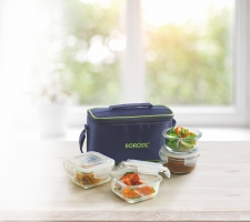 Universal Klip-N-Store Lunch Box