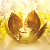 Golden Lotus Tea Light