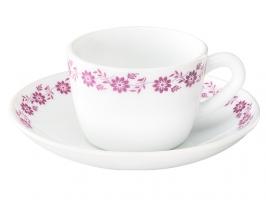 Lilac 12 Pc Cup Saucer Set