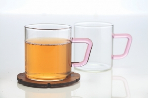 Vision Set of 6 Colour Classic Mug, Pink