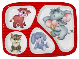 Appu Partition Plate Set of 6