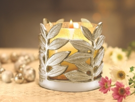 Leaf Tea Light