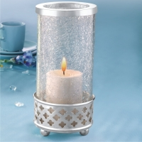 Silver Sparkle Tea Light