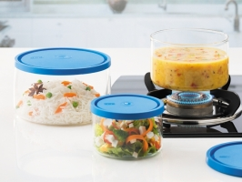Set of 3 Gourmet Cook & Store