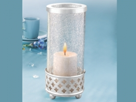 Silver Sparkle Tea Light