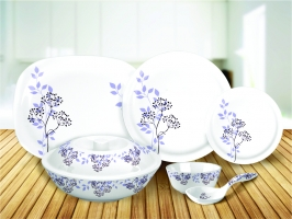 31 Pcs Lime Light Milano Dinnerset