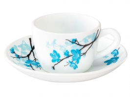 Mimosa 12 Pc Cup Saucer Set