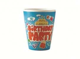 Birthday Party Tumbler Set of 6