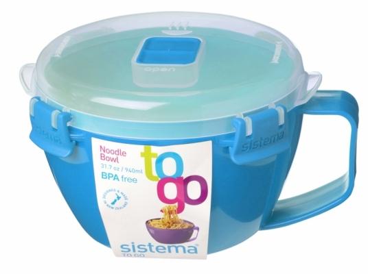 Noodle Bowl 940ml Light Blue