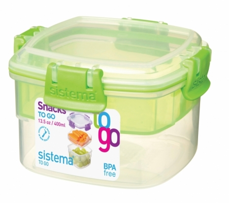 Snacks To Go 400 ml Green