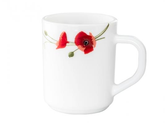 Red Carnation 6 Pc Mug