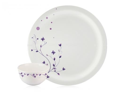 Lavender Milano 22 Piece Dinnerset