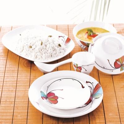 Vibgyor 35 Piece Dinner Set