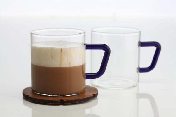 Vision Set of 6 Colour Classic Mug, Indigo