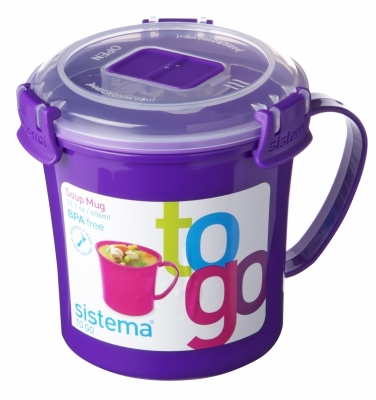Soup Mug 650 ml Purple