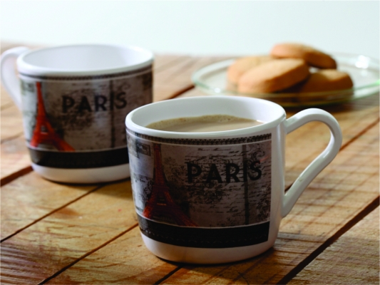 Paris Mug Set of 6