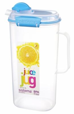 Juice Jug 2L Blue