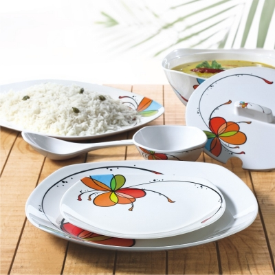 Vibgyor 35 Piece Dinner Set