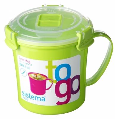 Soup Mug 650 ml Green