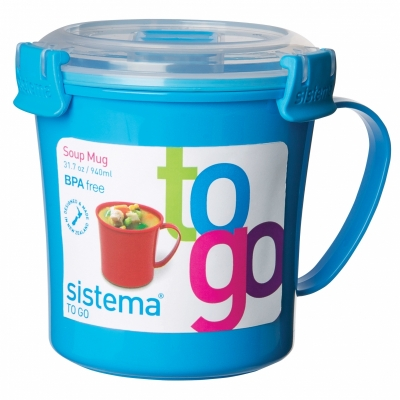 Soup Mug 650 ml Light Blue
