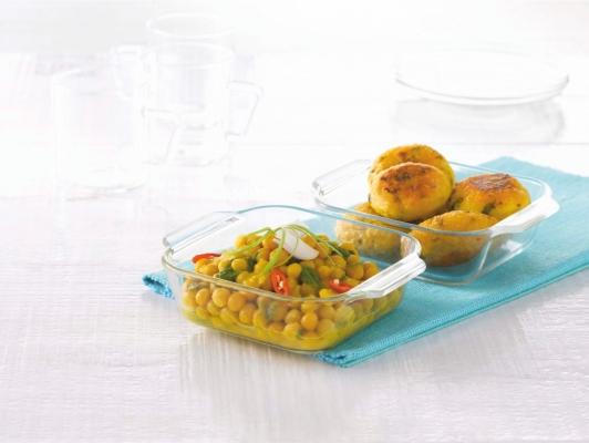 Mini Square Dish Set