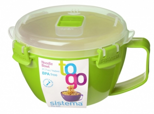 Noodle Bowl To Go 900ml Green