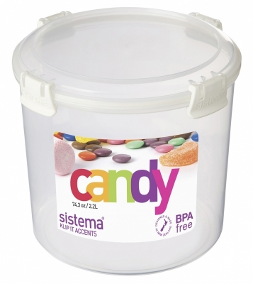 Candy 2.2L White