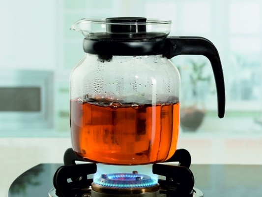 Carafe With Strainer In Lid 0.65L