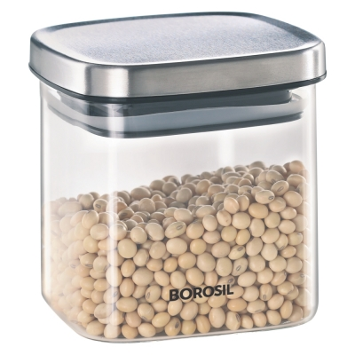Classic Square Jar, 600 ml