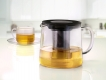 Carafe with SS strainer 1L