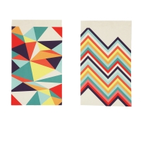 Notepad Polygon-1 set of 2