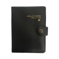 Travel Passport Holder Black