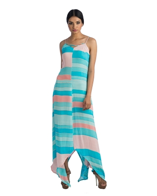 Assymetrical Maxi Dress